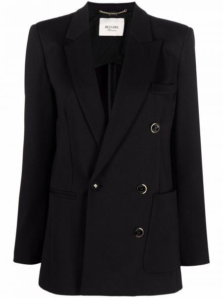 Длинная куртка - черная Blugirl