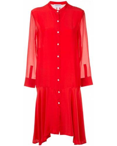 Платье миди на пуговицах платье-рубашка Osman