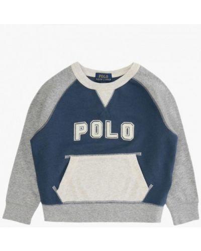 Синий свитшот Polo Ralph Lauren