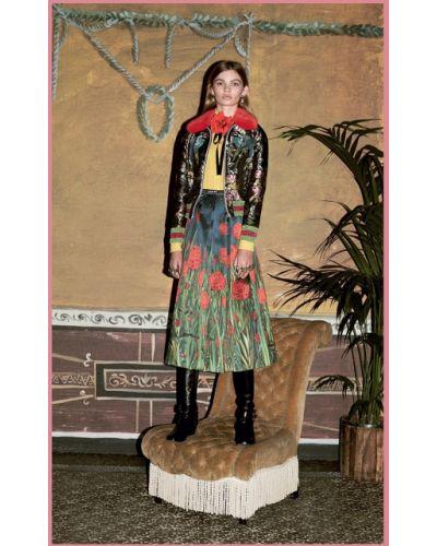 Блузка винтажная с бантом Gucci