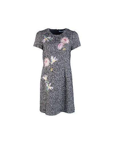Платье серое Blumarine