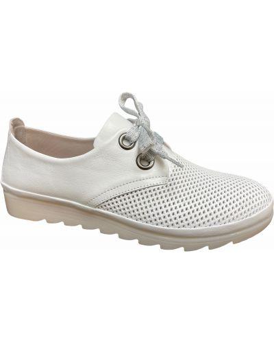 Кожаные туфли - белые Nod Trend