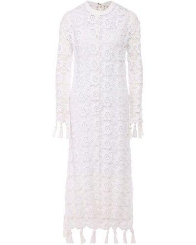 Платье бежевое Chloé