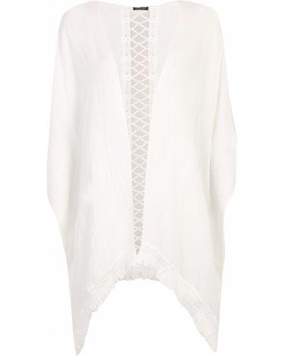 Pareo bawełniany - biały Top Secret