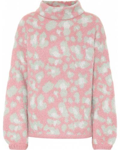 Sweter moherowy - różowy 81hours