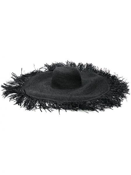 Czarny kapelusz Ibeliv
