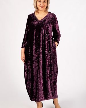 Бархатное платье милада