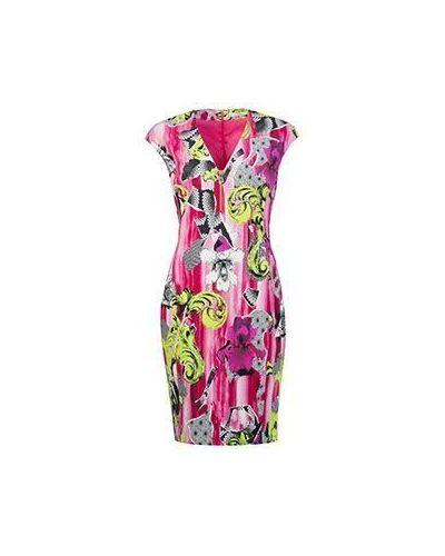 Облегающее платье из вискозы Versace Collection