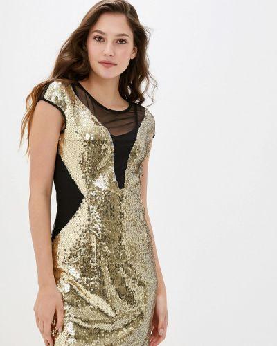 Вечернее платье осеннее золотой You&you