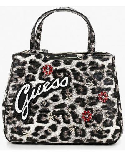Кожаный сумка с ручками Guess