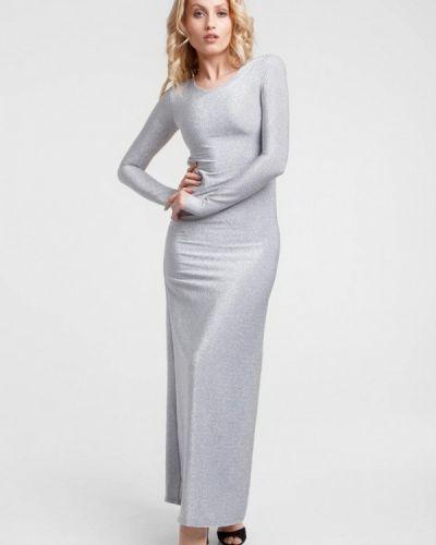 Серебряное вечернее платье Oks By Oksana Demchenko