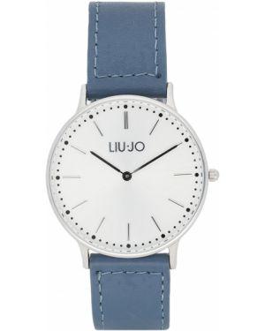Niebieski zegarek srebrny Liu Jo