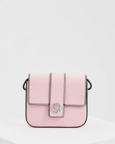 Розовая сумка через плечо Armani Exchange