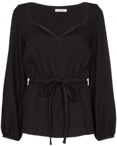 Блузка с поясом Deitas