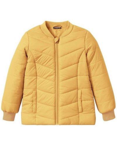 Желтая куртка ветрозащитная с манжетами Pepperts