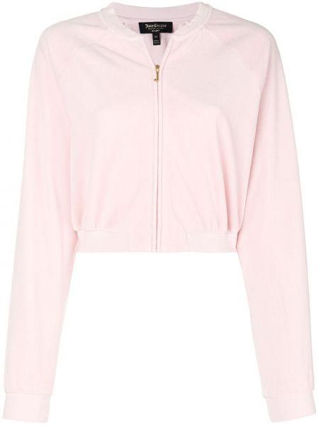 Куртка розовая на молнии Juicy Couture