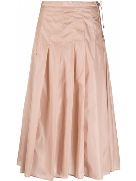 Światło pofałdowany różowy spódnica plisowana Moncler