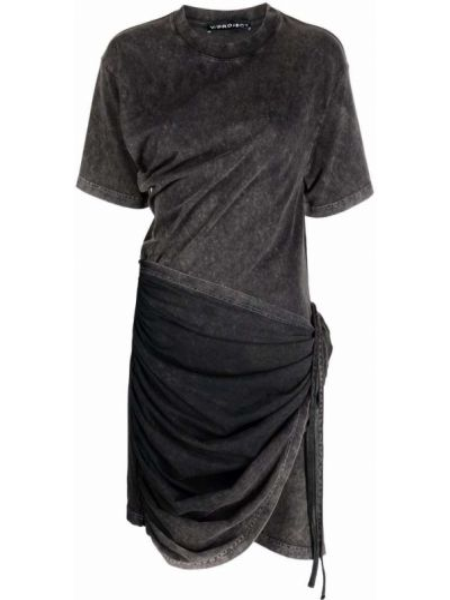 Платье рубашка - черное Y Project