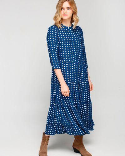 Повседневное платье-рубашка для офиса квадратное Must Have
