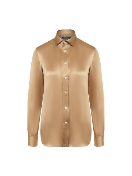Рубашка деловая атласная Polo Ralph Lauren