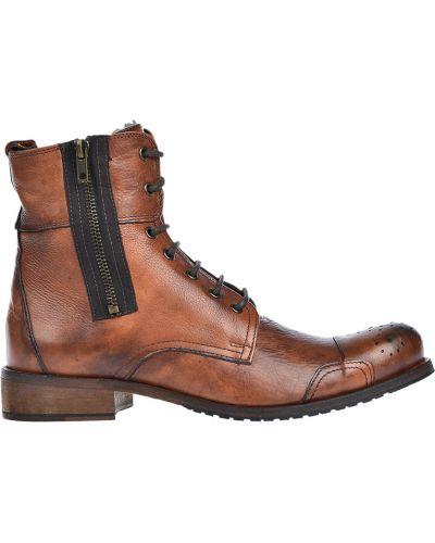 Ботинки осенние кожаные Mo's