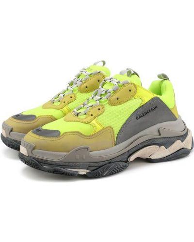 Желтые кроссовки Balenciaga