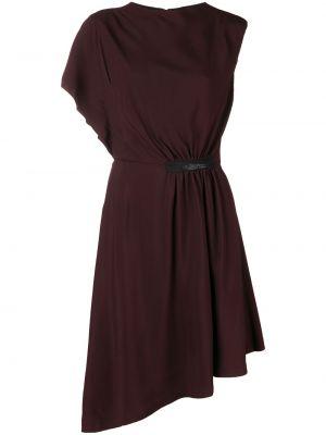 Платье миди бордовый модерн Lanvin