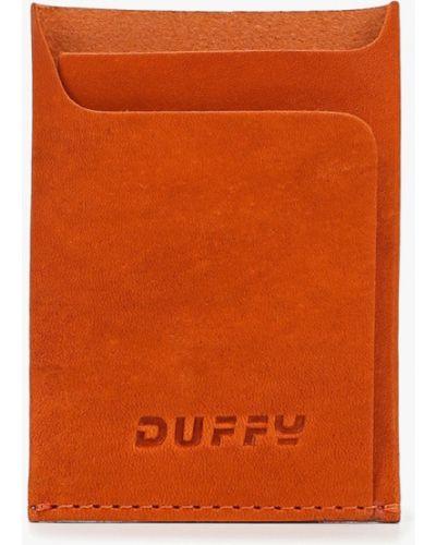 Визитница оранжевый Duffy