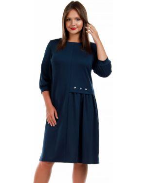 Платье на пуговицах платье-сарафан Liza Fashion