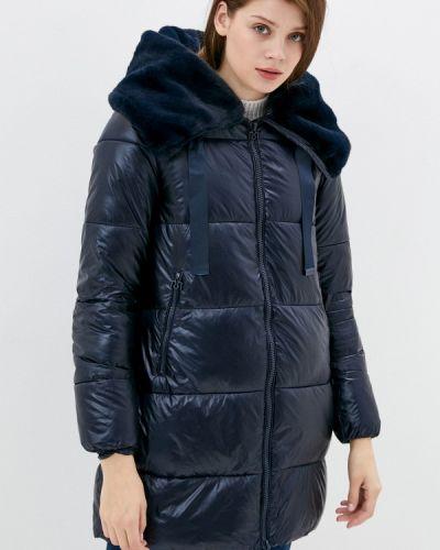 Утепленная синяя куртка Rinascimento