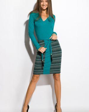 Приталенное джинсовое платье Time Of Style
