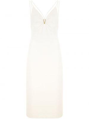 Облегающее платье миди - белое Dion Lee