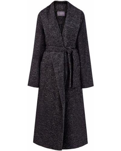 Шерстяное пальто - серое Lorena Antoniazzi