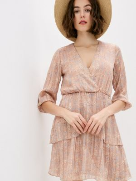Платье прямое розовое Miss Miss By Valentina