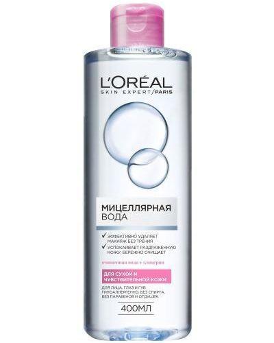 Мицеллярная вода кожаный очищающий L'oreal