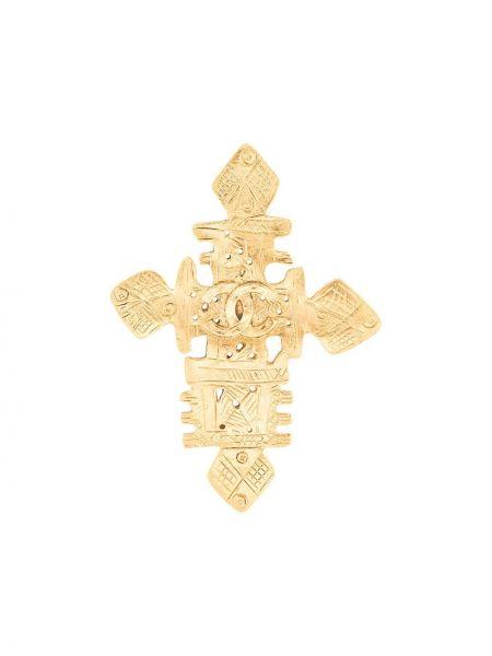 Broszka ze złota Chanel Pre-owned