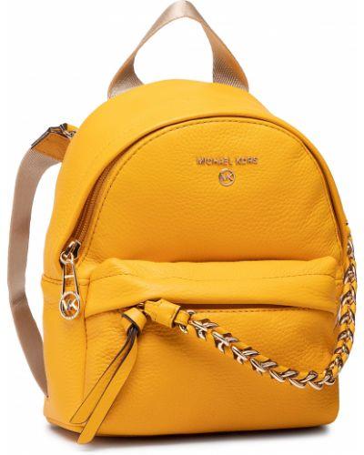 Żółta torba na ramię Michael Michael Kors