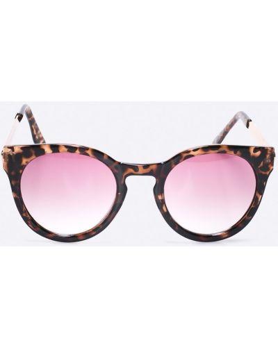 Солнцезащитные очки круглые металлические Vero Moda