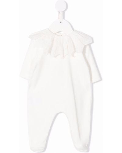 Piżama z długimi rękawami - biała Tartine Et Chocolat