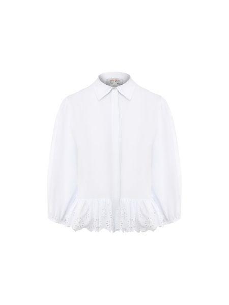 Хлопковая рубашка - белая Paul&joe