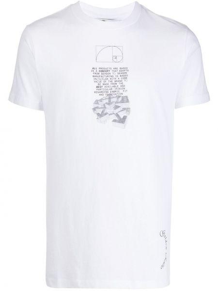 Koszula krótkie z krótkim rękawem klasyczna z nadrukiem Off-white