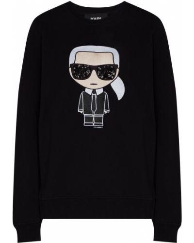 Свитшот свободного кроя Karl Lagerfeld