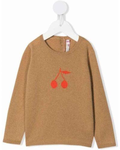 Brązowy sweter Bonpoint