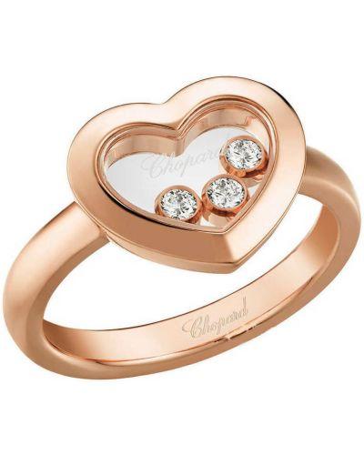 Żółty pierścionek z diamentem Chopard