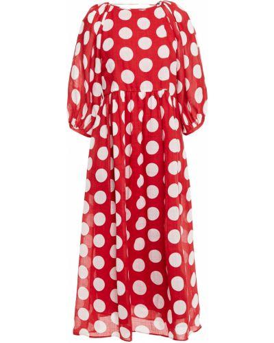 Открытое платье миди с открытой спиной с подкладкой Paul & Joe
