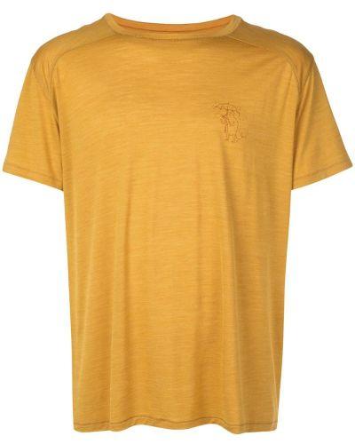 Желтая футболка Klättermusen