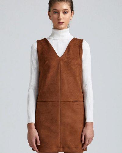 Платье мини - коричневое Minimally