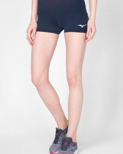 Синие спортивные шорты Mizuno