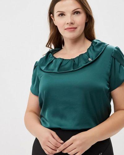Зеленая блузка с коротким рукавом Sartori Dodici