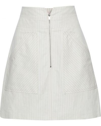 Biała spódnica mini bawełniana Rebecca Taylor